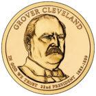 1 доллар 2012 США — Grover Cleveland (22-й президент)