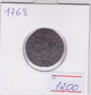 деньга 1768 года