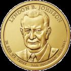 1 доллар 2015 года Линдон Джонсон 36 президент