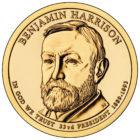 1 доллар 2012 США — Benjamin Harrison (23-й президент)