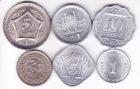 Набор монет Пакистан 6 шт