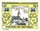 Нотгельд 50 геллеров