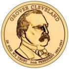 1 доллар 2012 США — Grover Cleveland (24-й президент)