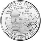 25 центов территория США Пуэрто-Рико