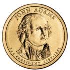1 доллар 2007 США — John Adams (2-й президент)