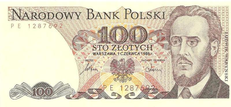 100 зoлoтыx 1986 Пoльшa