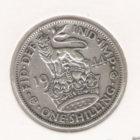 1 шиллинг 1944 серебро, Англия