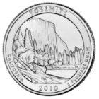 25 центов США Йосемитский национальный парк Калифорния