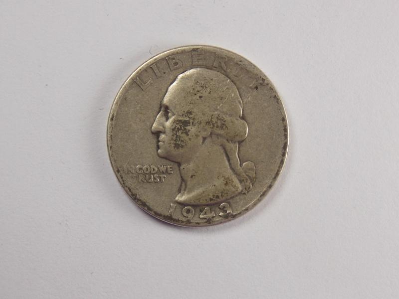 25 центов 1943 года.