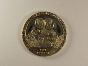 1 доллар 2007 года.