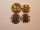 Набор монет 2010 года. Индия.