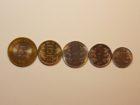 Набор монет 2009 года. Индия.