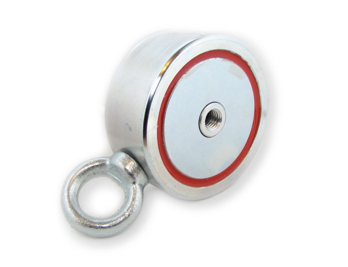 Двухсторонний поисковый магнит F600 х 2