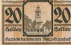 20 ваучеров 1920 года. Германия.