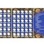 Альбом планшет под памятные и юбилейные 10 рублевые монеты России