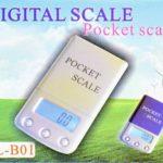 Карманные электронные весы ML-B01 50 г / 0,01 г