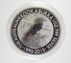 1 доллар 2015 Австралия кукабарра