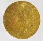 Рубль 1757 года  Ремонт.
