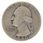 США. 25 центов 1940 г.