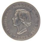 Дания. 2 кроны 1958 г. «18 лет Принцессе Маргрете»
