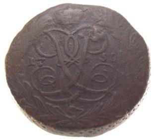 5 копеек 1758 г.