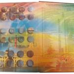 Альбом-книга для  Памятных 10-рублевых биметаллических монет России