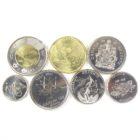 Канада. Годовой набор монет 2017
