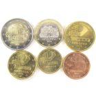 Набор монет Евро 2014 г. Андорра (6 шт.)