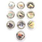 Малави.Набор монет 10 квач 2010 г. «Ядовитые лягушки» (10 шт.)