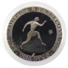 Испания. 2000 песет 1990 г. «XXV Летние Олимпийские игры, Барселона 1992 — Бег»