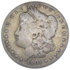 1 доллар 1901 г. O