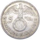 5 рейхсмарок 1936 г. А