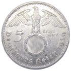5 рейхсмарок 1936 г. F