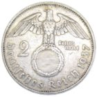 2 рейхсмарки 1937 г. A
