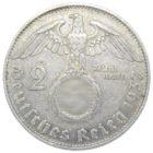2 рейхсмарки 1937 г. J