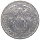 5 рейхсмарок 1939 г. B
