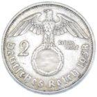2 рейхсмарки 1938 г. A