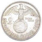 2 рейхсмарки 1938 г. E