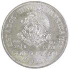 Мексика. 5 песо 1953 г.