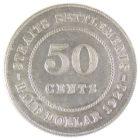 Стрейтс-Сетлментс. 50 центов 1921 г.