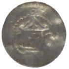 Денарий. г. Эрфург, Архиепископ Бардо фон Опперсхофен 1031-1051 г.