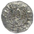 Денарий. Фризия. Бруно III 1050-1057 г.
