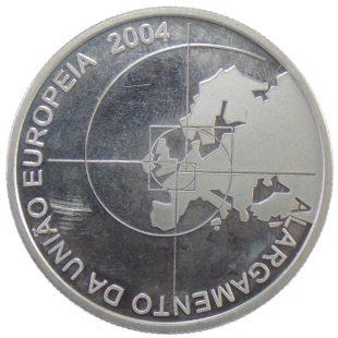 Португалия. 8 евро 2004 г. «Расширение Европейского Союза»