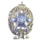 Знак об окончании Главной Гимнастическо-фехтовальной школы (Реставрация венка)