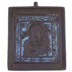 Икона «Казанская Богоматерь» (эмаль)