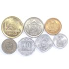 Пакистан. Набор монет 1976-2016 гг. (7 шт.)