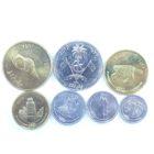 Мальдивы. Набор монет 2007-2012 гг. (7 шт.)