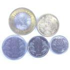 Индия. Набор монет 2009-2011 гг.