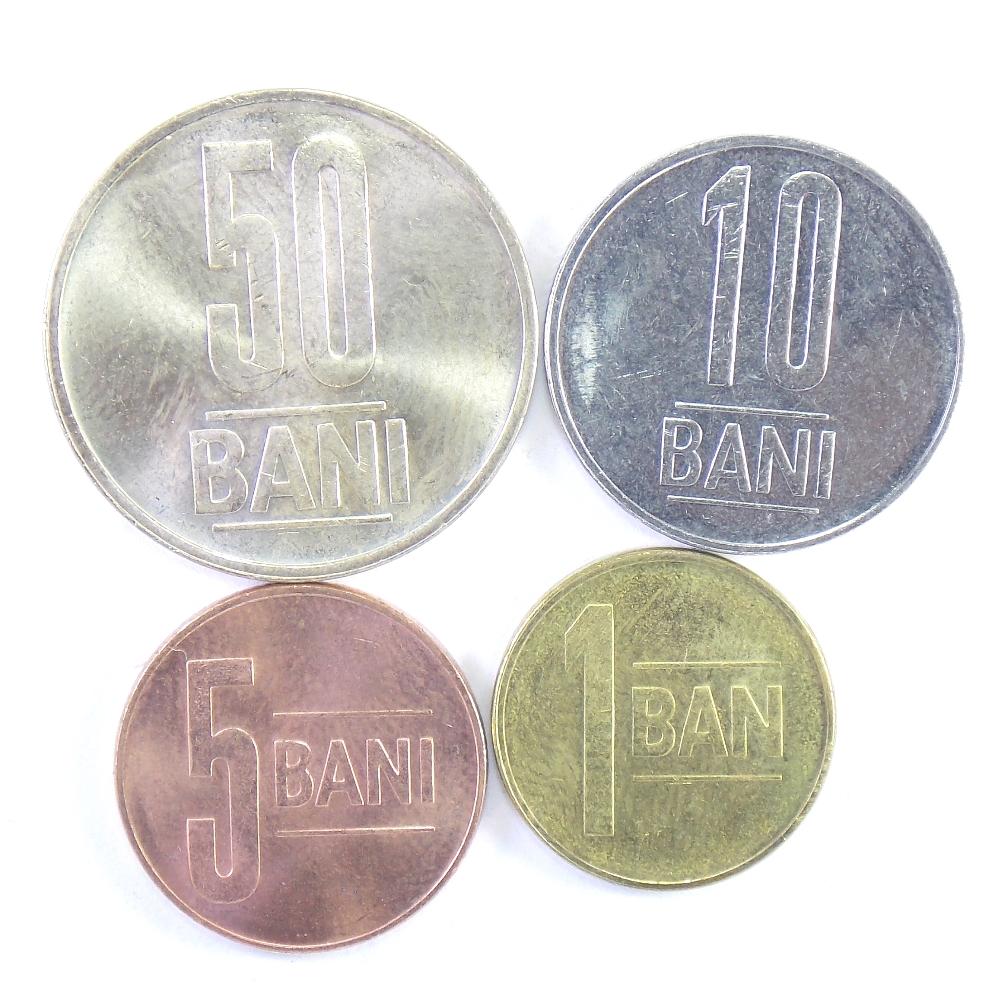 Румыния. Набор монет 2012-2013 гг.
