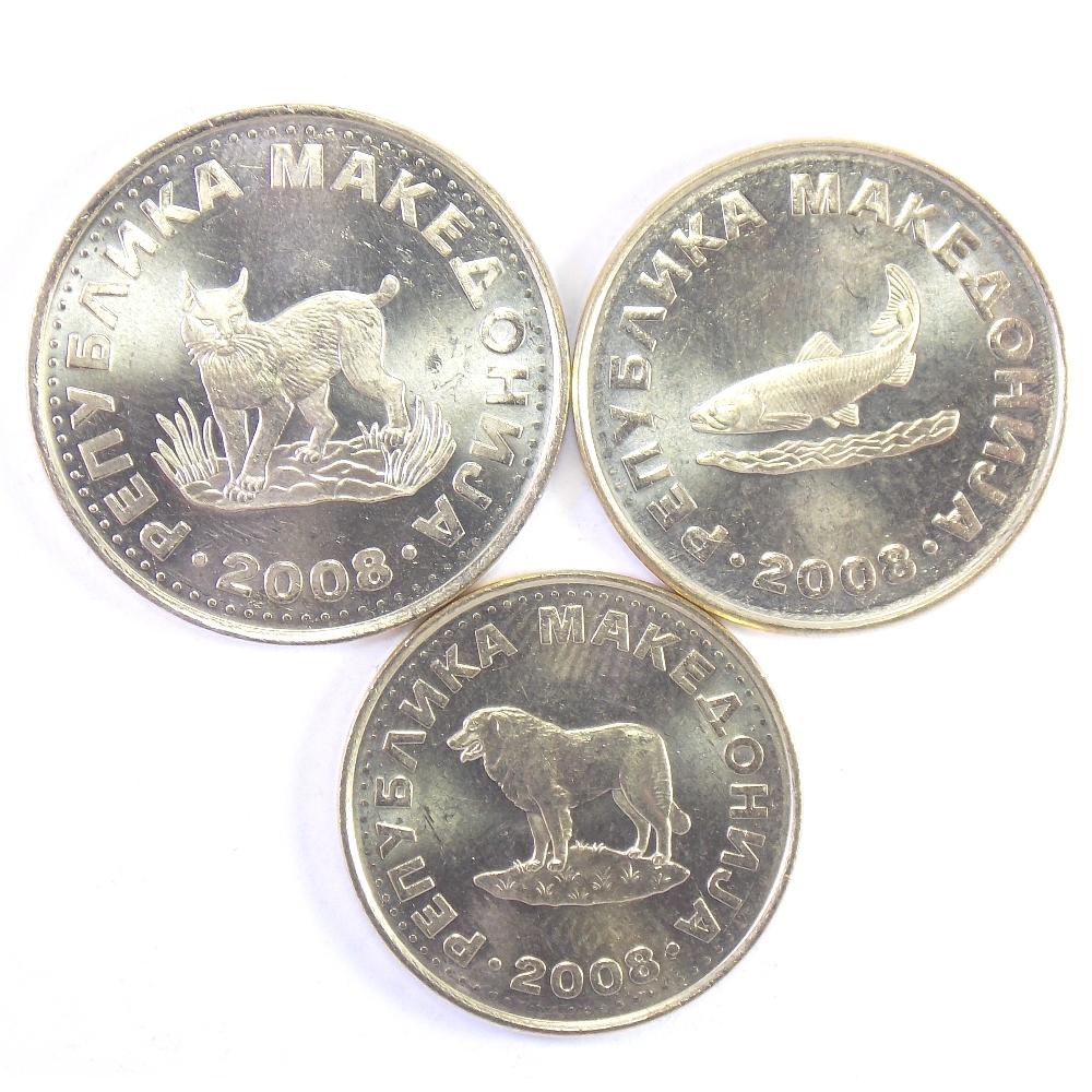 Македония. Набор монет 2008 г.